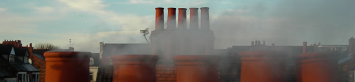 Smoking Chimney Pots